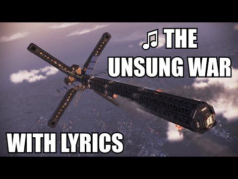 SOLG Interception - ♫ The Unsung War (Latin and English Lyrics) - Ace Combat Infinity