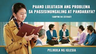 """""""Ang mga Tao ng Kaharian ng Langit"""" - Isang Kristiyano ang Kumilos nang Matapat at Pinagpala ng Diyos (Clips 1/2)"""