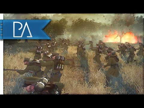 WW1 GERMAN DEFENSE - The Great War Total War Mod Gameplay