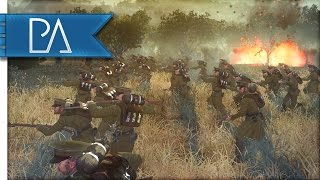 WW1 GERMAN DEFENSE - The Great War Total War Mod Gameplay