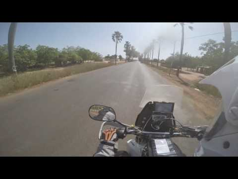 Riding from Kayes to Bamako (Mali)
