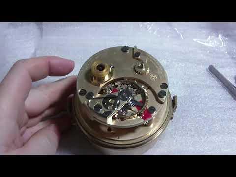 Ulysse Nardin marine chronometer style clock