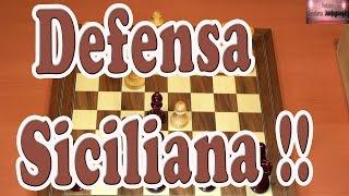 Defensa Siciliana mal orden  de jugadas | Ajedrez