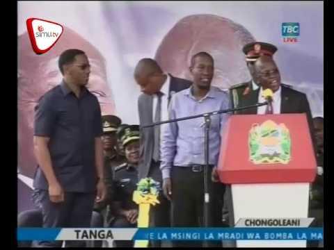 Rais Magufuli Awapatanisha Paul Makonda Na Ruge