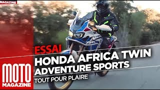 Honda Africa Twin Adventure Sports 2018 - Review by Moto Magazine