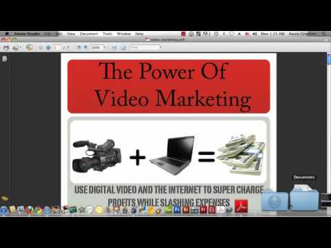 Adding Video To A PDF Document