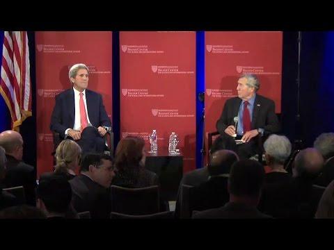 Secretary Kerry's Conversation with Harvard Students