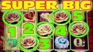 SUPER BIG WIN ★ PROGRESSIVE JACKPOT ★ 5 BONUS SYMBOL CURSE IS BROKEN!!