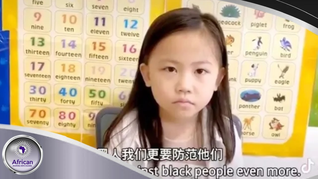 Video Shows A Chinese Mother Teaching Her Daughter To Hate Black People