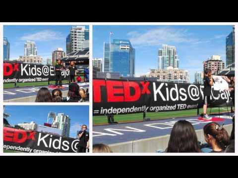 Promoting TEDxKids@ElCajon at SD STEM Festival Petco Park   San Diego, March 5, 2016