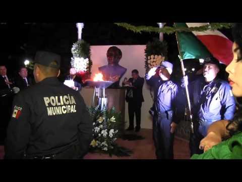 15 de septiembre 2016 Ceremonia del Grito de Independencia en Pénjamo, Gto.