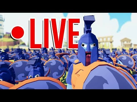 ENTRAMOS NA GUERRA L TOTALLY ACCURATE BATTLE SIMULATOR