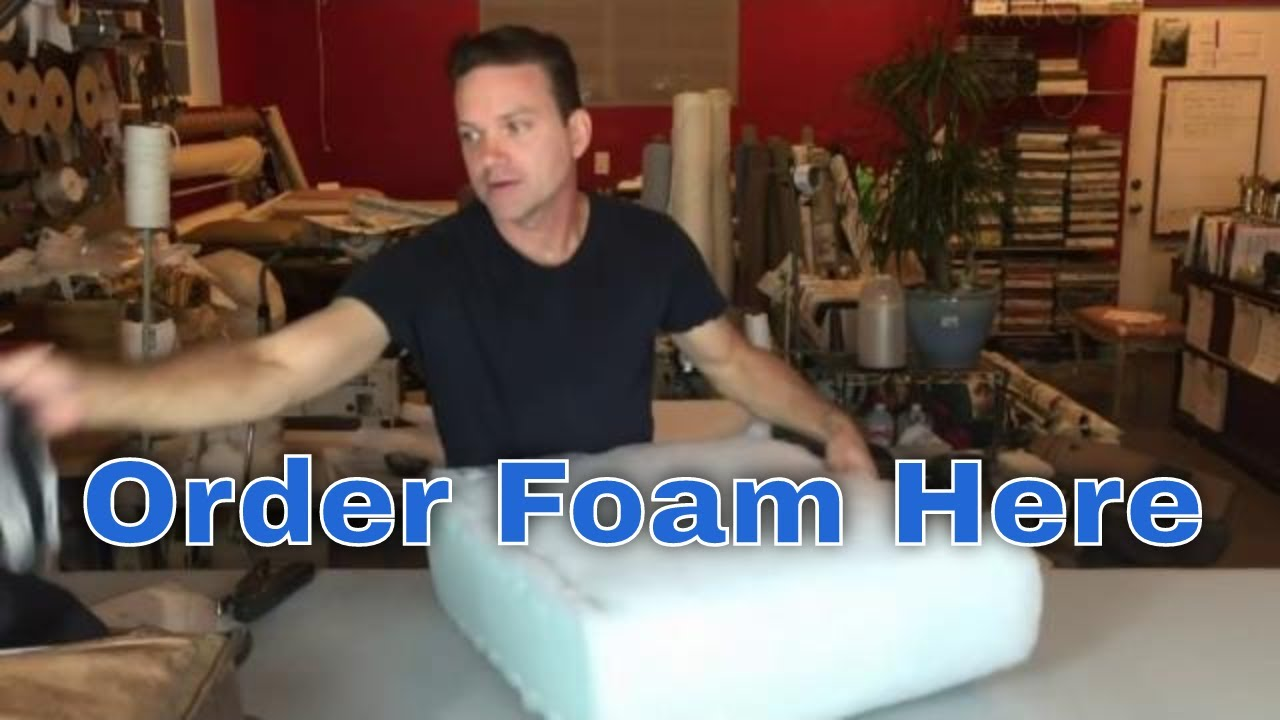 Replace The Foam In Your Seat Cushions