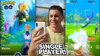 NEW POKÉMON GO SINLGE PLAYER MODE + MAJOR EVENT! (PVP Update)