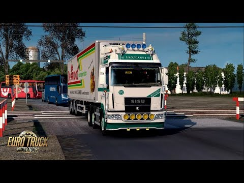 ETS2 1.30 The Moscow Region SISU C600