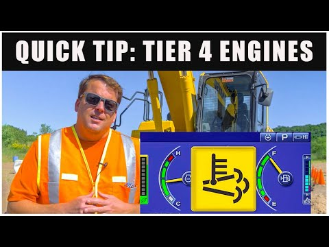 Tier 4 Engines & Emission Controls | Quick Tips // Heavy Equipment Operator
