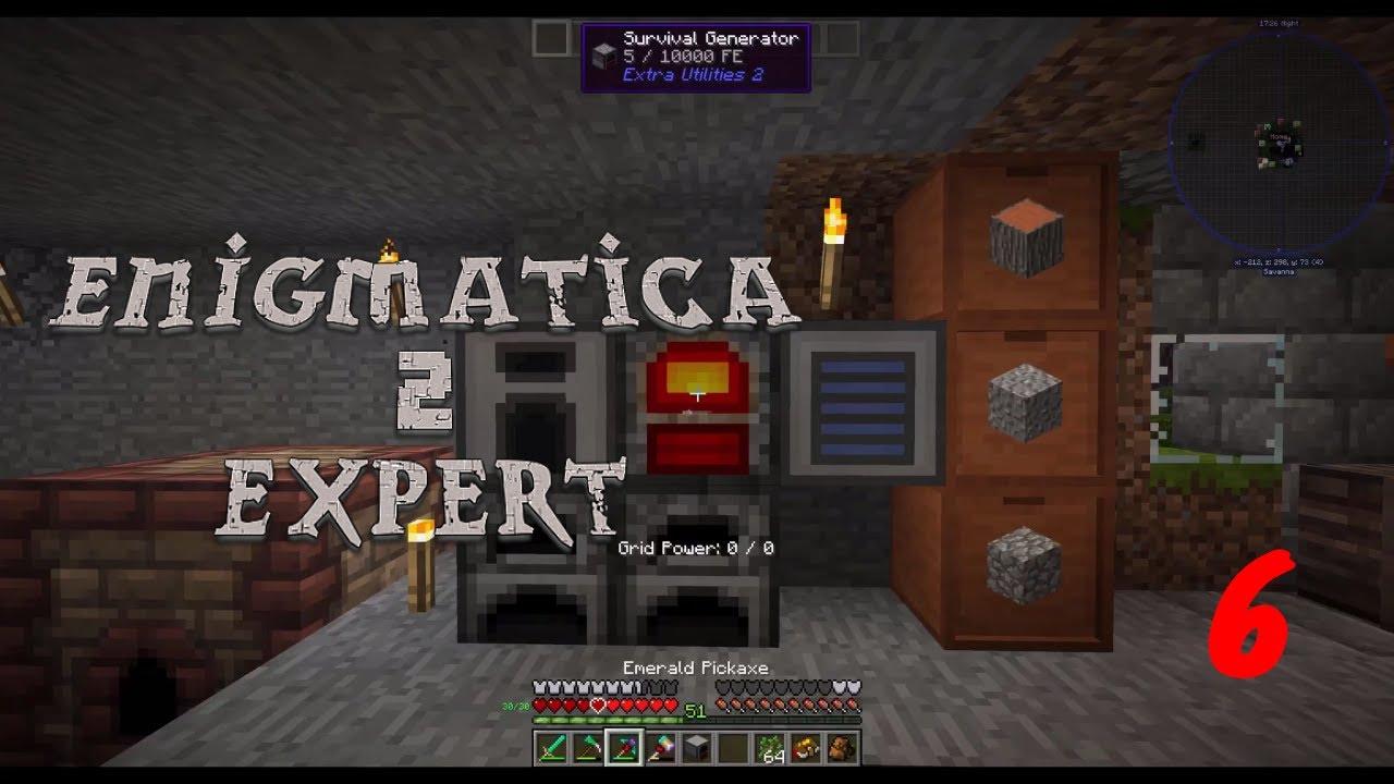 Enigmatica 2 Expert: Ore Doubling! Plus Immersive Engineering  Progression!!! Episode 6!