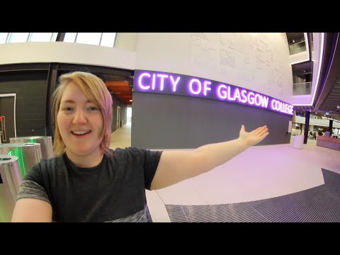 First look inside - City of Glasgow College building