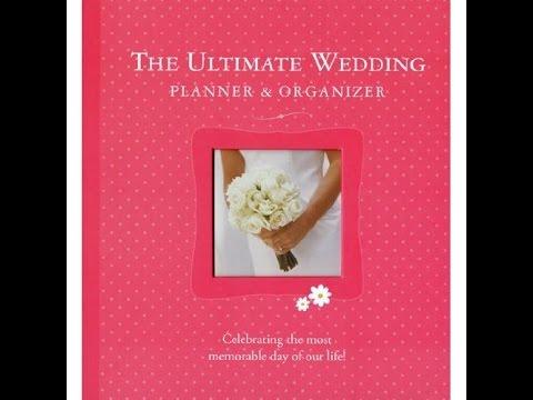 Ultimate Wedding Planner Organizer 2d Ed By Elizabeth Lluch Mpl Book Trailer 26