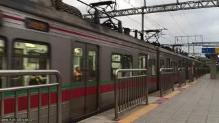 """서울메트로 1호선 - """"서동탄행 첫차"""" VVVF 106편성 노량진역 발차 / Korea Seoul Subway line1.(SeoulMetro) Noryangjin station"""