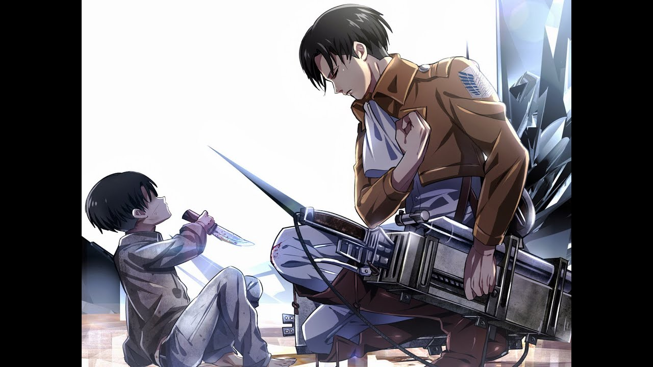 Attack on Titan... Attack On Titan Levi Salute