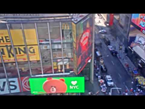 Times Square: 1560 Broadway View Live