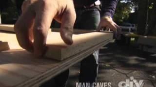 How To Build A Bar Top-diy
