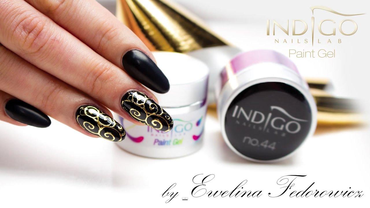 Biżu paznokcie Indigo Nails :: Folia transferowa :: Paint Gel Design ...