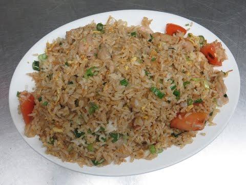 Hakka Fried Rice - Chinese Restaurant Recipe