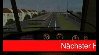 Loksim 3D fahrt von Bremen Burg nach Bremen Hbf