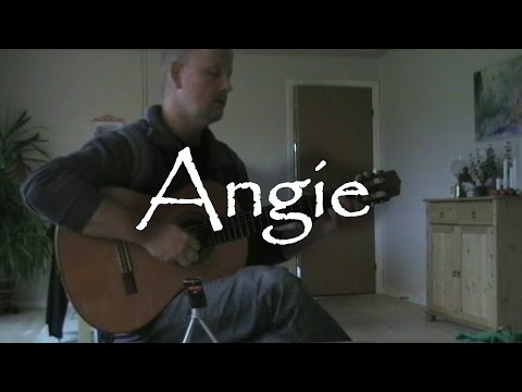 Angie - The Rolling Stones | fingerstyle guitar (with tabs)
