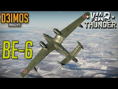 War Thunder: BE-6 Premium Hidroavião Soviético.