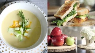 Easy & Delicious Fall Recipes Using Apples - Soup & Apple Brie Melt #iHeartFall Ep 4 MissLizHeart