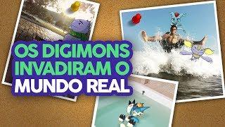Os Digimons invadiram o Mundo Real