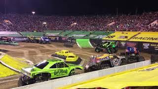 Monster Truck World Finals 2018 Racing Intros
