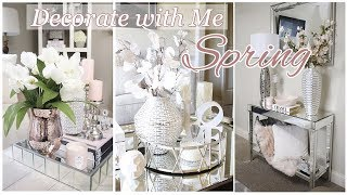 Decorate with me Spring: Vignettes | Spring Table Styling