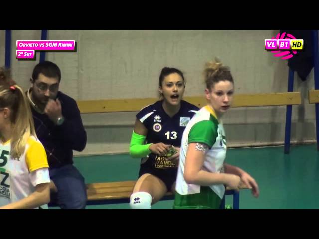 Orvieto vs SGM Rimini - 2° Set