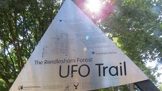 The UFO Trail in Rendlesham Forest