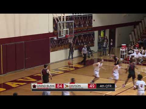 Boys Varsity Basketball Vs Grand Blanc 1-17-2020