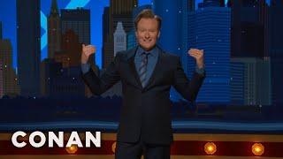 #ConanNYC Monologue 11/08/17  - CONAN on TBS