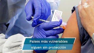 """""""Entendemos la preocupación de los gobiernos de proteger a sus poblaciones de la variante Delta, pero no podemos aceptar que los países que ya han utilizado la mayoría de los suministros de vacunas, utilicen todavía más"""", señaló el director general de la Organización"""