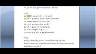Французский с Дмитрием Петровым домашнее задание к уроку 11