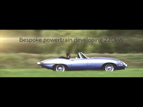 Jaguar resurrects the E-type with an electric motor as the E-type Zero