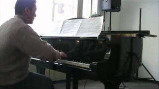 久々に練習したピアノです。左手がなかなか思うように動かず苦労しました!