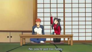 Fate Stay Night Best Moment Rin lau...