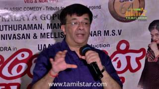 Kasethan Kadavulada Stage Play Press Meet
