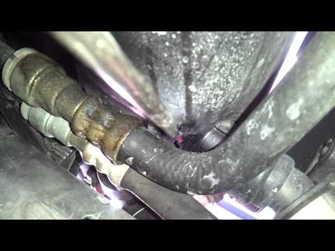 BMW E46 coolant leak found