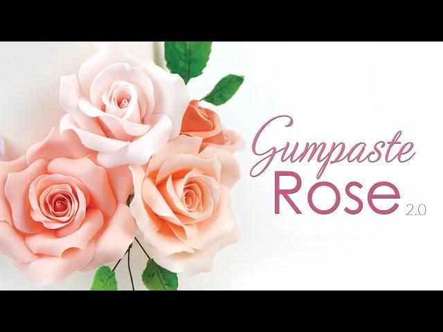 Gumpaste Rose Tutorial - Sugar Flowers