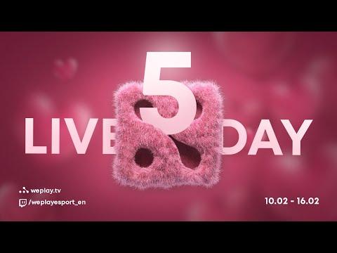 DAY #5 Tournament Valentine Madness DOTA 2 | WePlay! Esports | $100k thumbnail