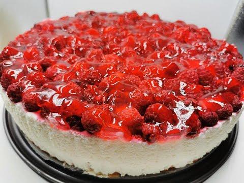 ❤️ Himbeer-Quark-Sahne Torte, Königlicher Genuss!